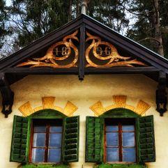 Sommerfrischehaus an der Straße nach Bromberg