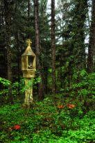 Hubertuskreuz bei Wartmannstetten