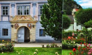 Der zauberhafte Rosengarten in Pitten