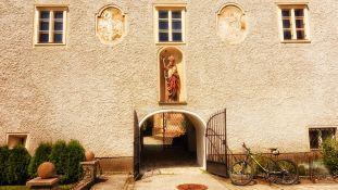 Der Pfarrhof von Pottschach