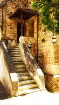 Treppenaufgang zum Chor