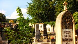 Schön gelegen: Der Friedhof von St. Johann