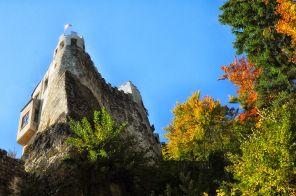 Am Fuße der Burg Grimmenstein