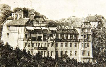 Sanatorium Hochegg um 1900