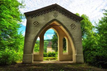 Romatische Gartenbauten in Feistritz