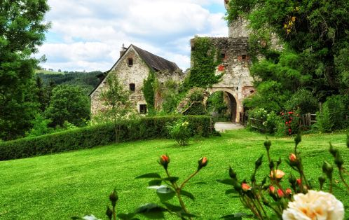 Oase der Ruhe: Burg(ruine) Thomasberg