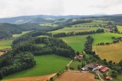 Blick über die westliche Bucklige Welt bei Kirchau