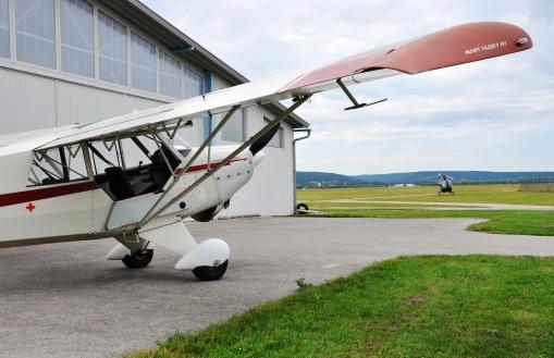 Das Fluggerät: Eine Christen Aviat A-1 Husky