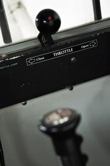 Detail aus dem Cockpit