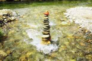 Steinmandl-Bauen zur Entspannung