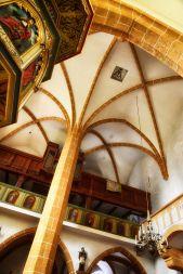 Überm Gewölbe das Wehrobergeschoss