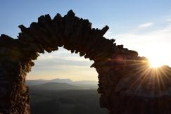Sonnenuntergang am Türkensturz