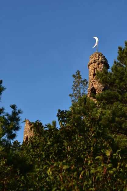 Die künstliche Ruine von Fürst Liechtenstein