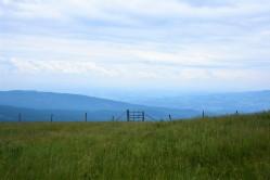 Toller Ausblick ins steirische Hügelland